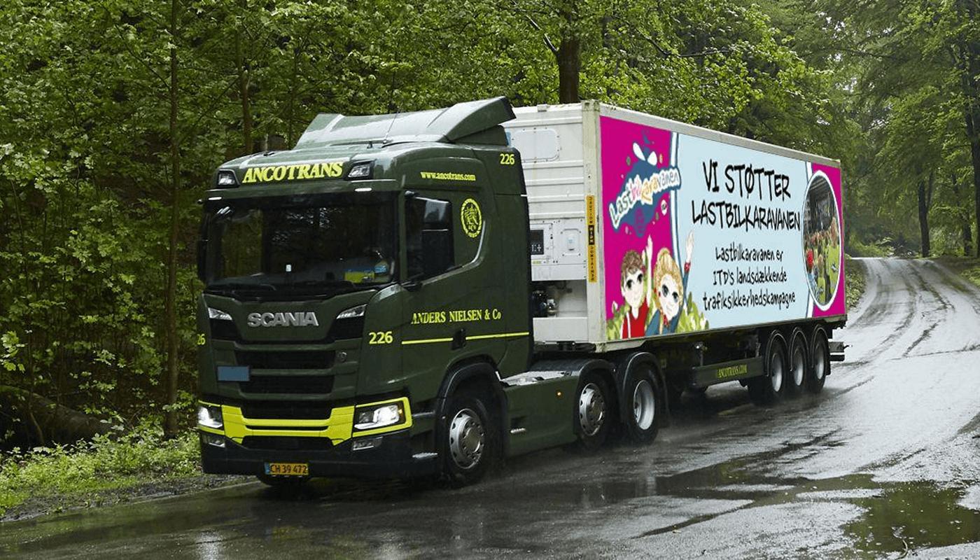 ANCO supports Lastbilkaravanen